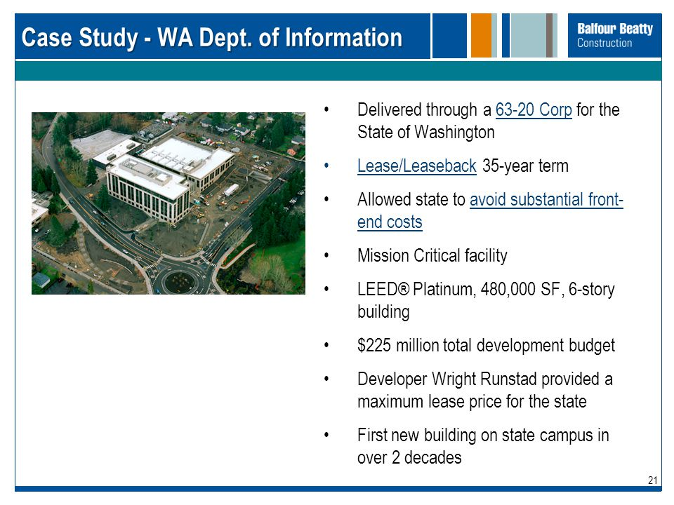 Case Study - WA Dept. of Information