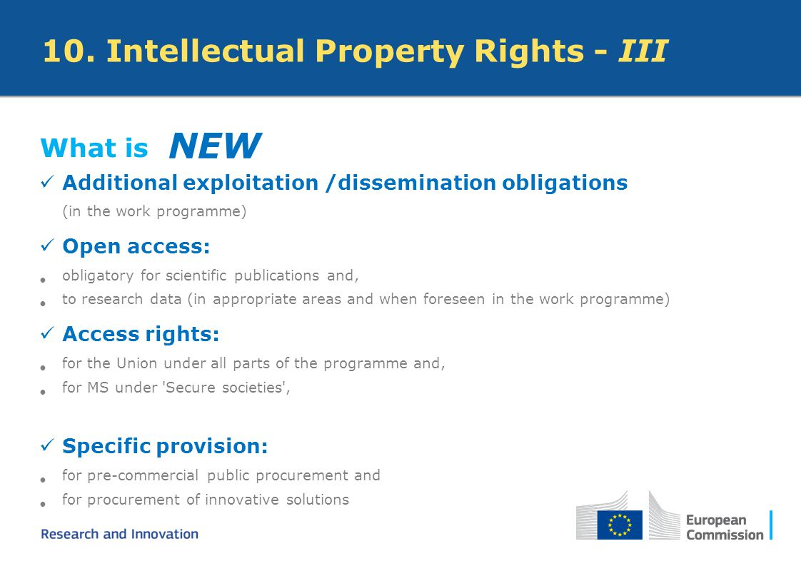 NEW 10. Intellectual Property Rights - III What is