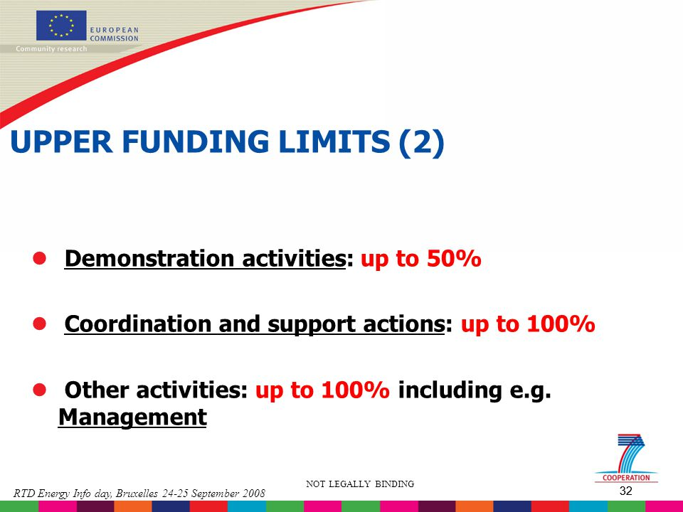 UPPER FUNDING LIMITS (2)