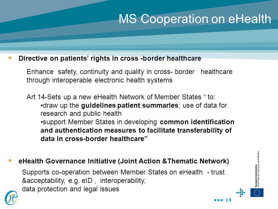 MS Cooperation on eHealth