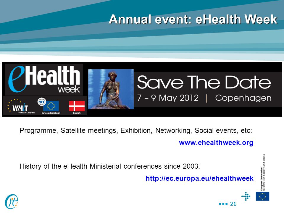 Annual event: eHealth Week