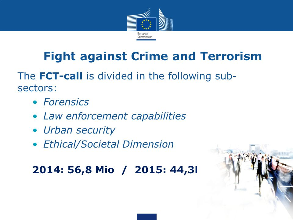 Fight against Crime and Terrorism