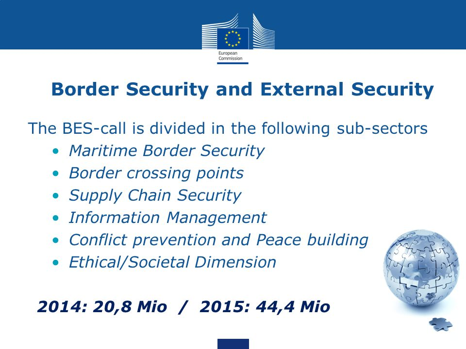 Border Security and External Security