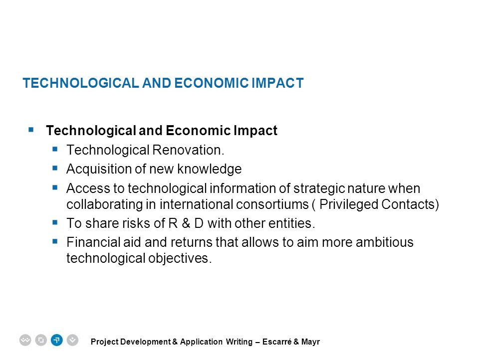 Technological and economic impact