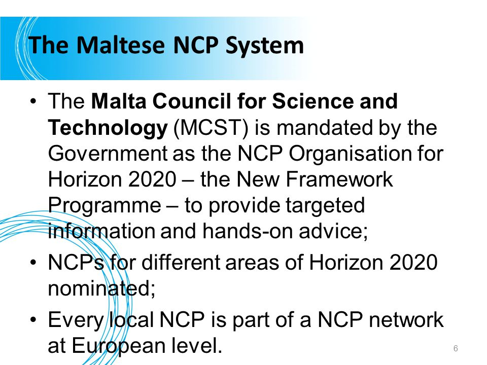 The Maltese NCP System