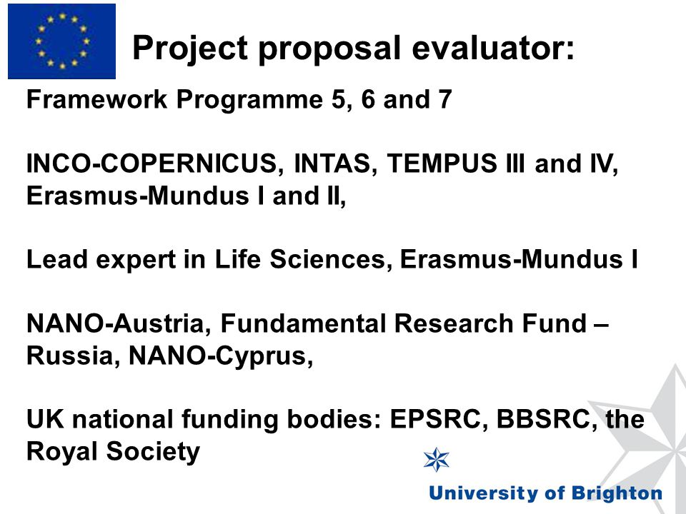 Project proposal evaluator: