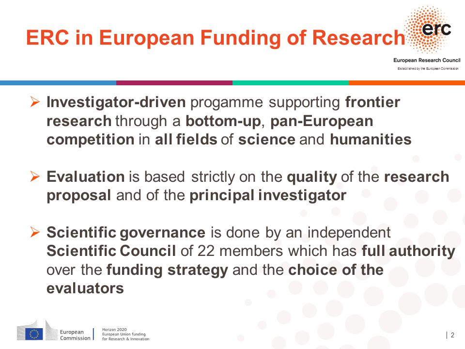 ERC in European Funding of Research