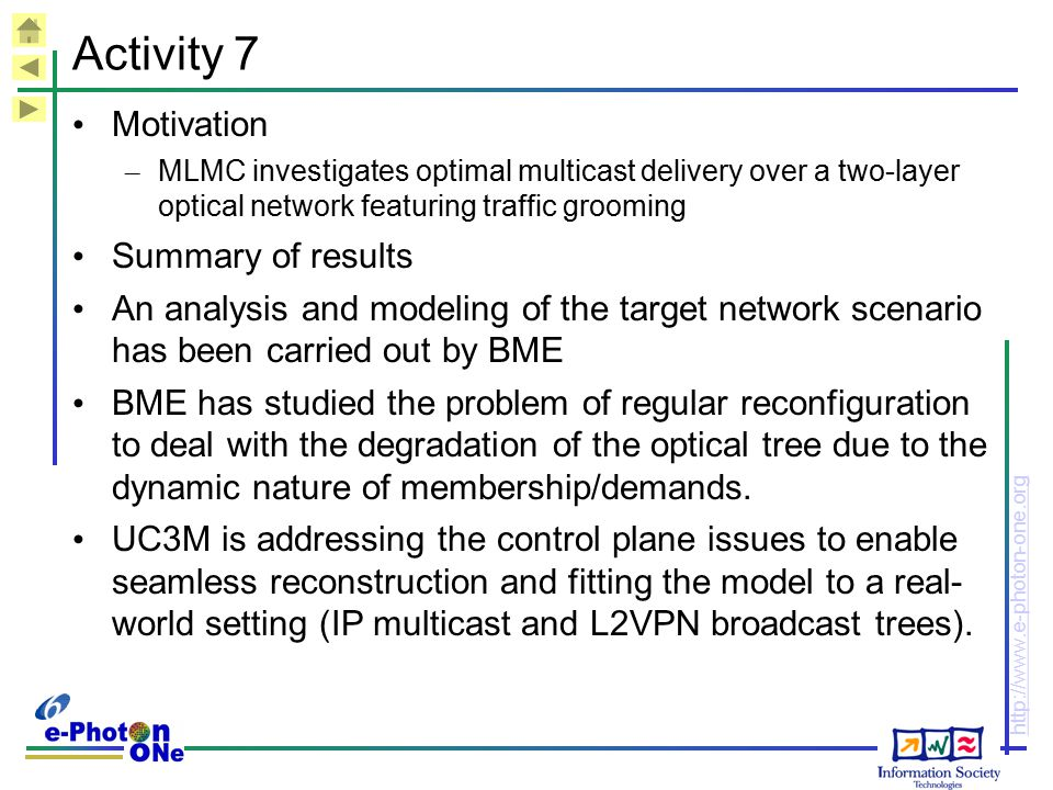 Activity 7 Motivation Summary of results