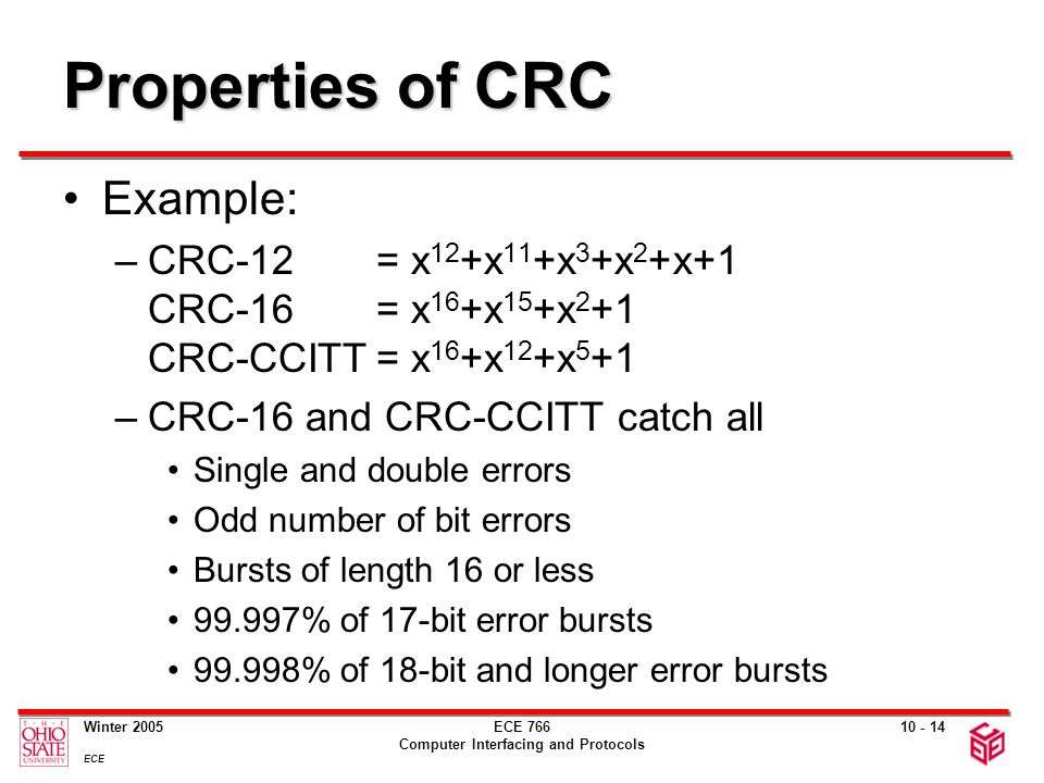 Crc calculation example ppt