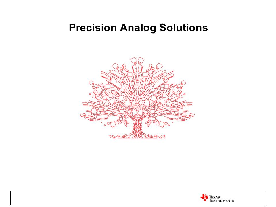 Precision Analog Solutions