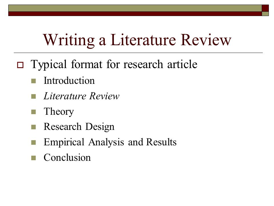 literature review on research design Why literature review developing pod involves literature review at every phase of research frames and guides research.