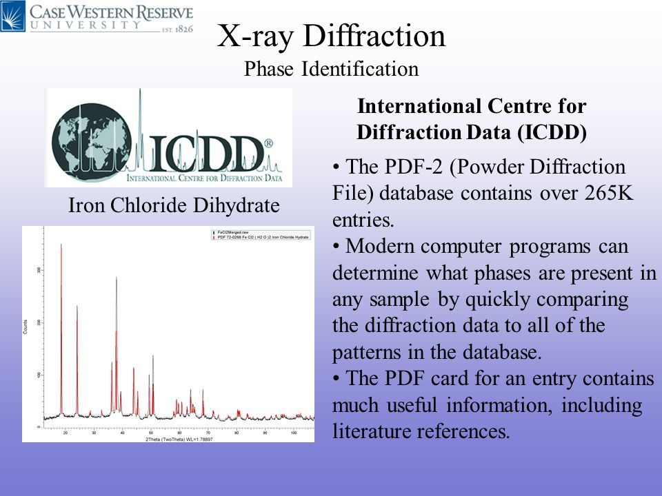 X-ray Diffraction and EBSD - ppt video online download