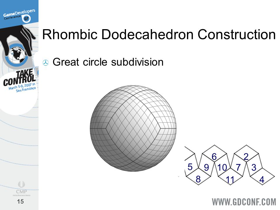 Rhombic Dodecahedron Construction