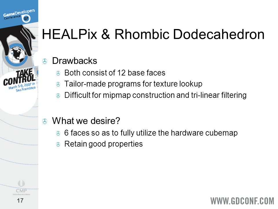 HEALPix & Rhombic Dodecahedron