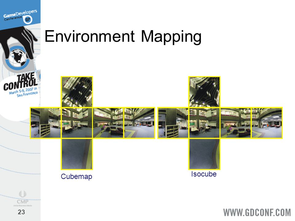 Environment Mapping Isocube Cubemap