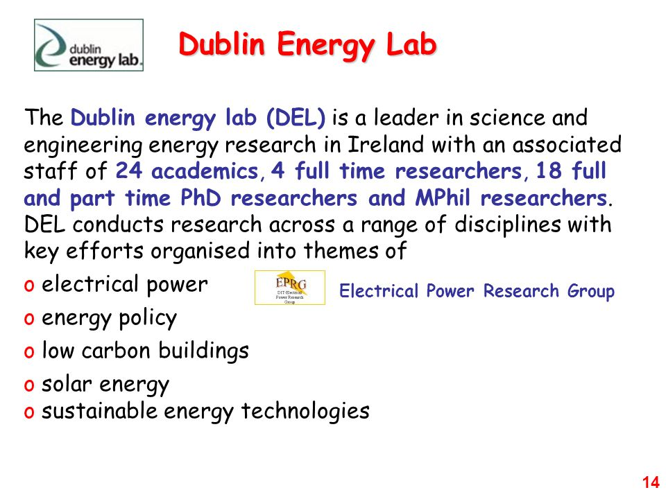 Dublin Energy Lab