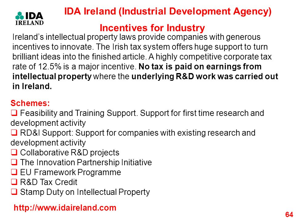 IDA Ireland (Industrial Development Agency)
