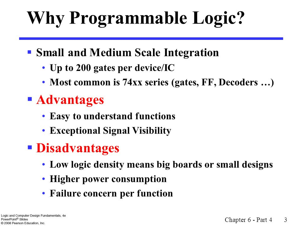 Why Programmable Logic