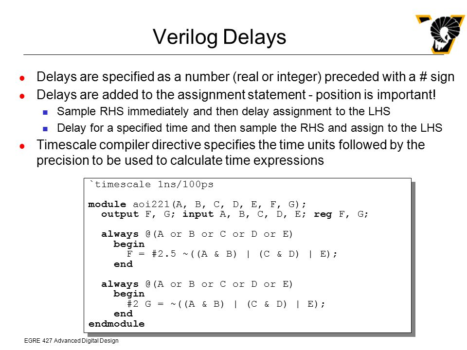 Chapter 11 Verilog HDL Application-Specific Integrated Circuits