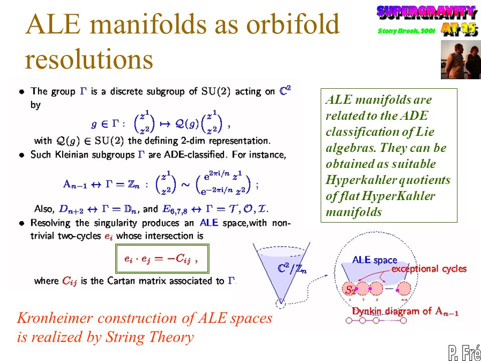 ALE manifolds as orbifold resolutions