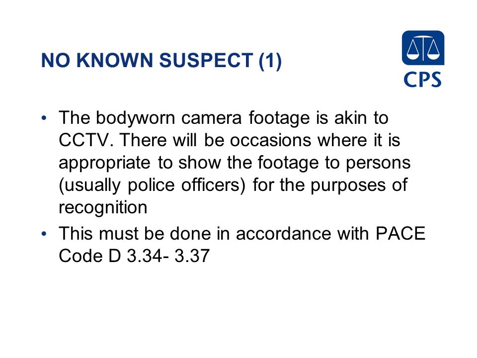 NO KNOWN SUSPECT (1)
