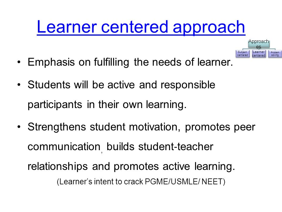 what is subject centered curriculum