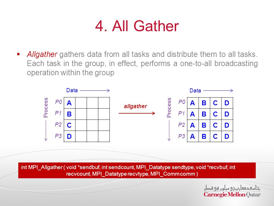 4. All Gather