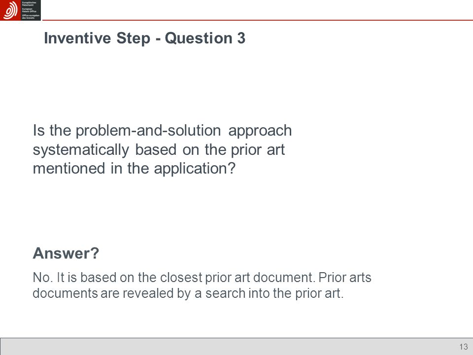 Inventive Step - Question 3