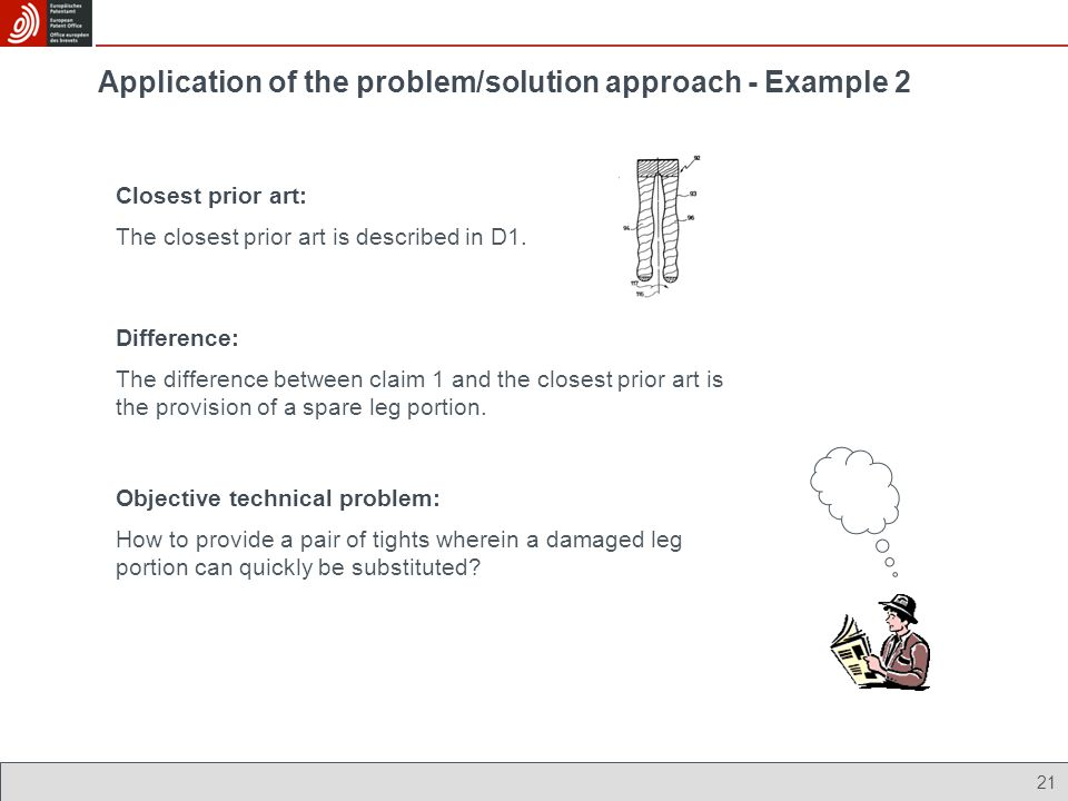 Application of the problem/solution approach - Example 2