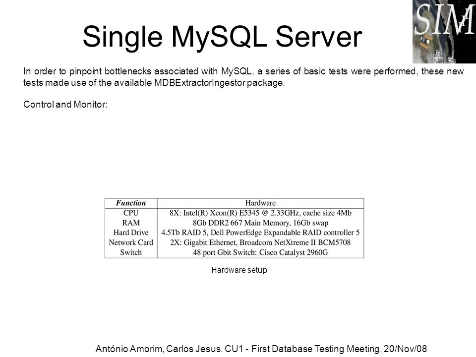 MySQL Advanced MySQL Replication MySQL Cluster MySQL Partitioning