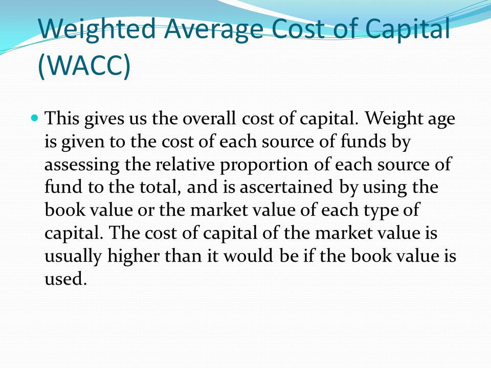 """weighted average cost of capital essay Excellent academic papers your trusted academic writer posted on october 23, 2018 by admin  for the project,"""" she says""""do you have the information i need to describe capital structure and to calculate the weighted average cost of capital (wacc)"""" you ask""""i do,"""" she smiles """"we can determine the target wacc for apix printing."""