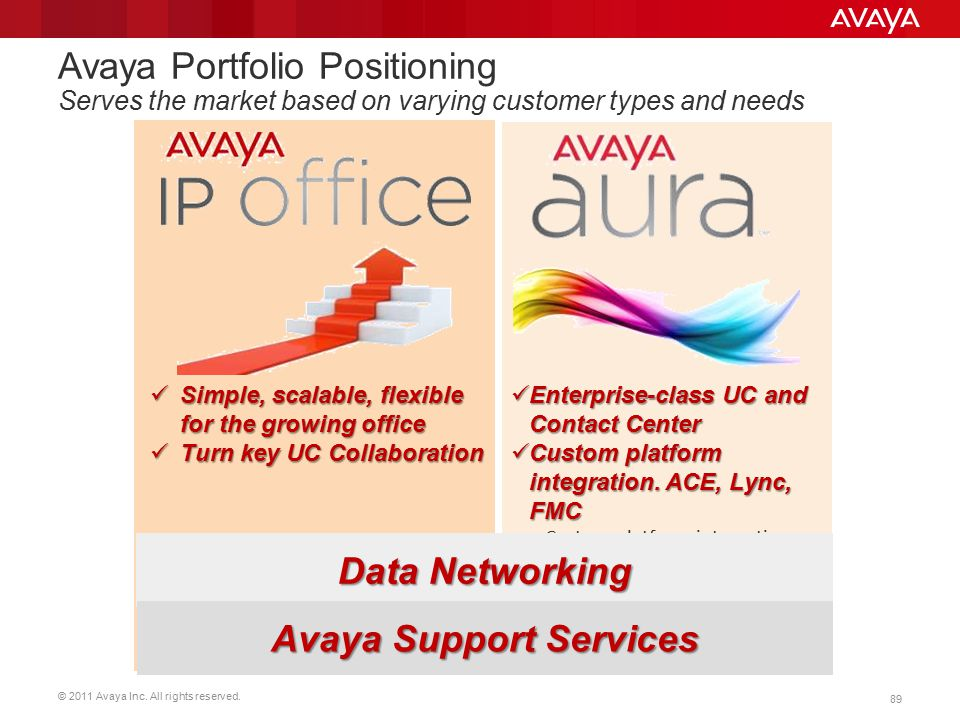 Avaya Support Services