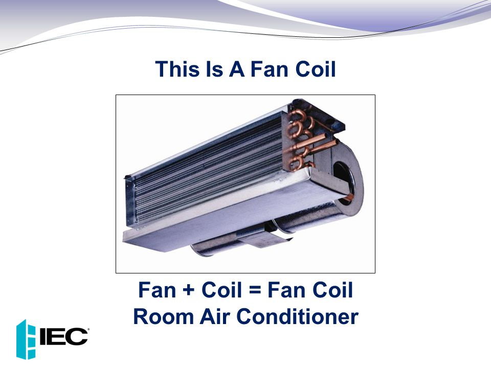 Fan + Coil = Fan Coil Room Air Conditioner