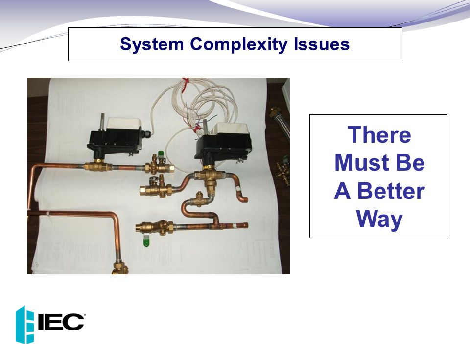 System Complexity Issues There Must Be A Better Way