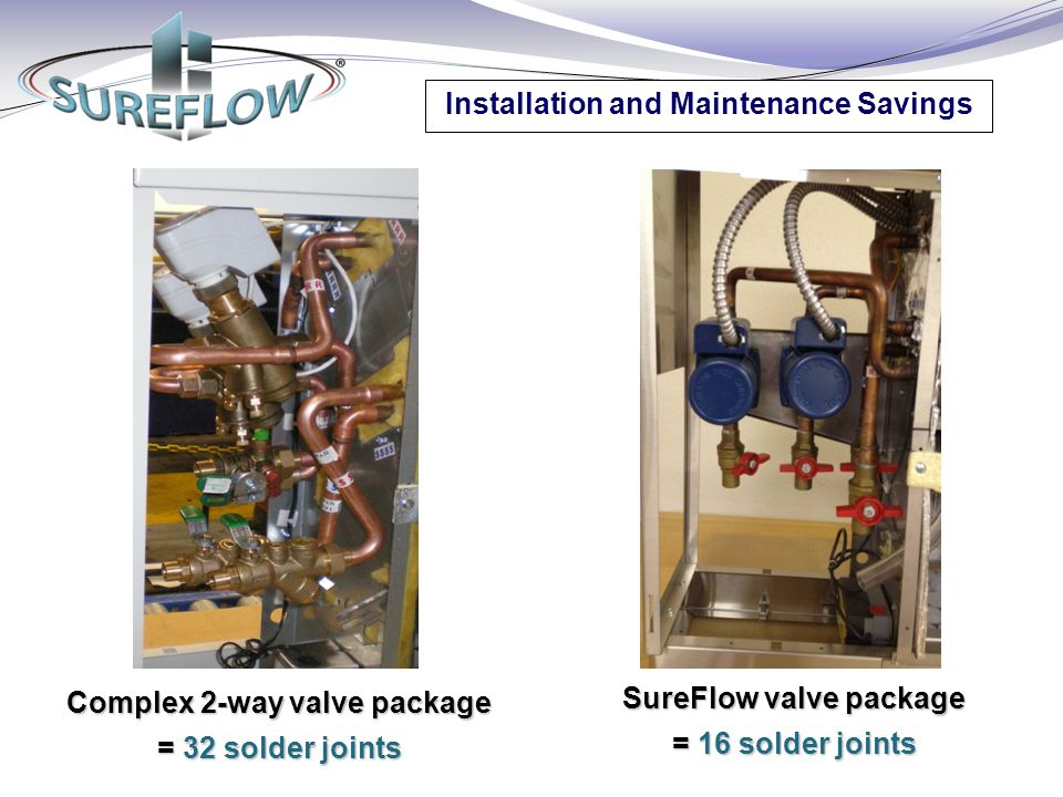Installation and Maintenance Savings