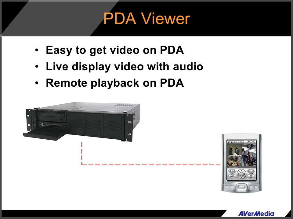 PDA Viewer Easy to get video on PDA Live display video with audio