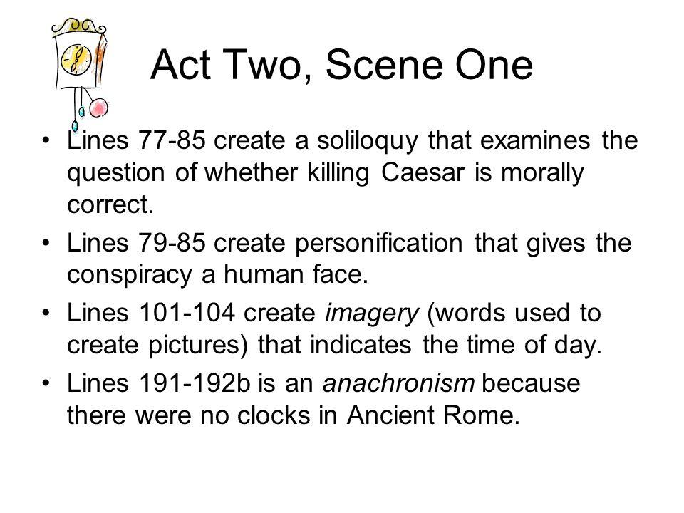 Julius Caesar Act 2 Literary Notes Ppt Download