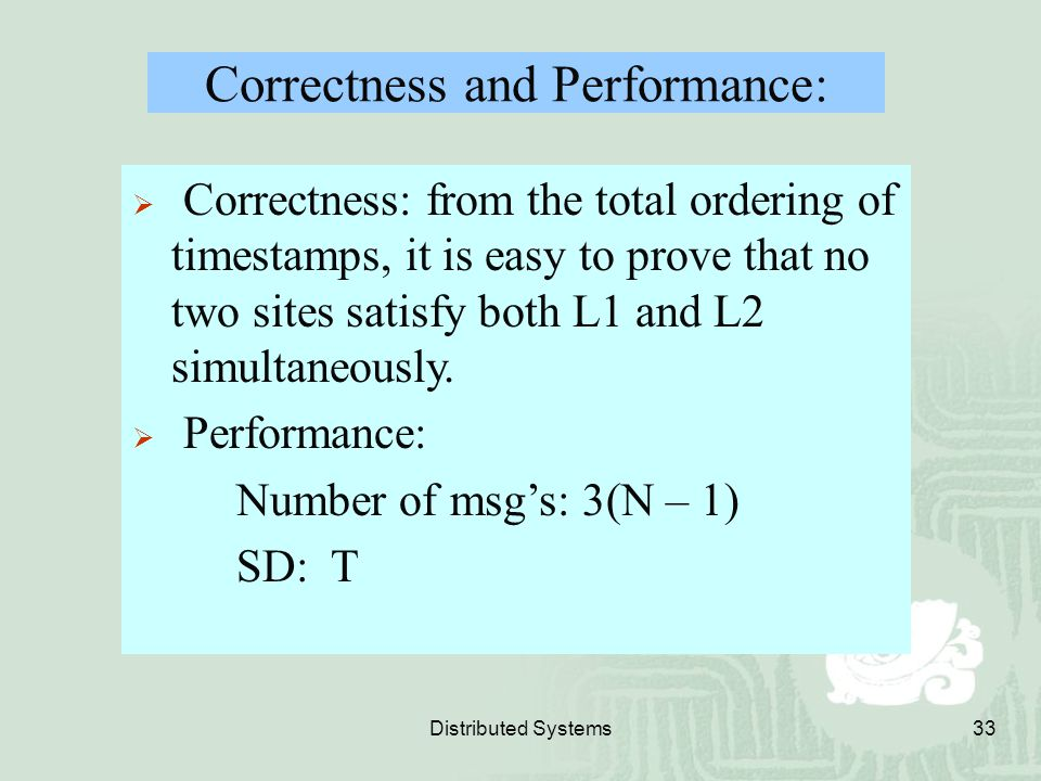 Correctness and Performance:
