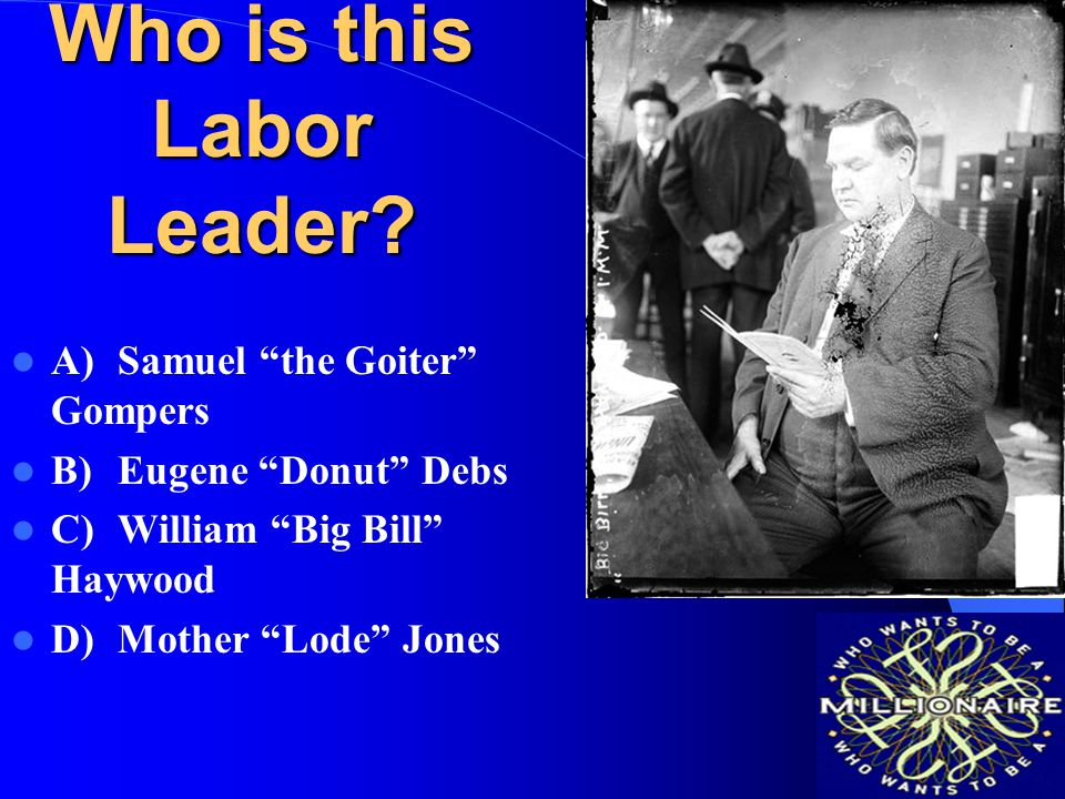 Who is this Labor Leader
