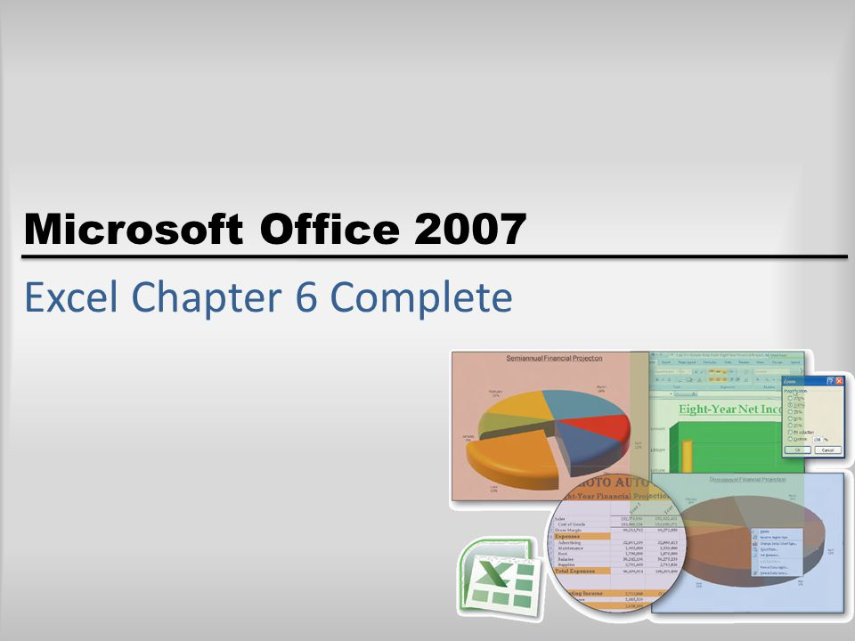 Excel Chapter 6 Complete