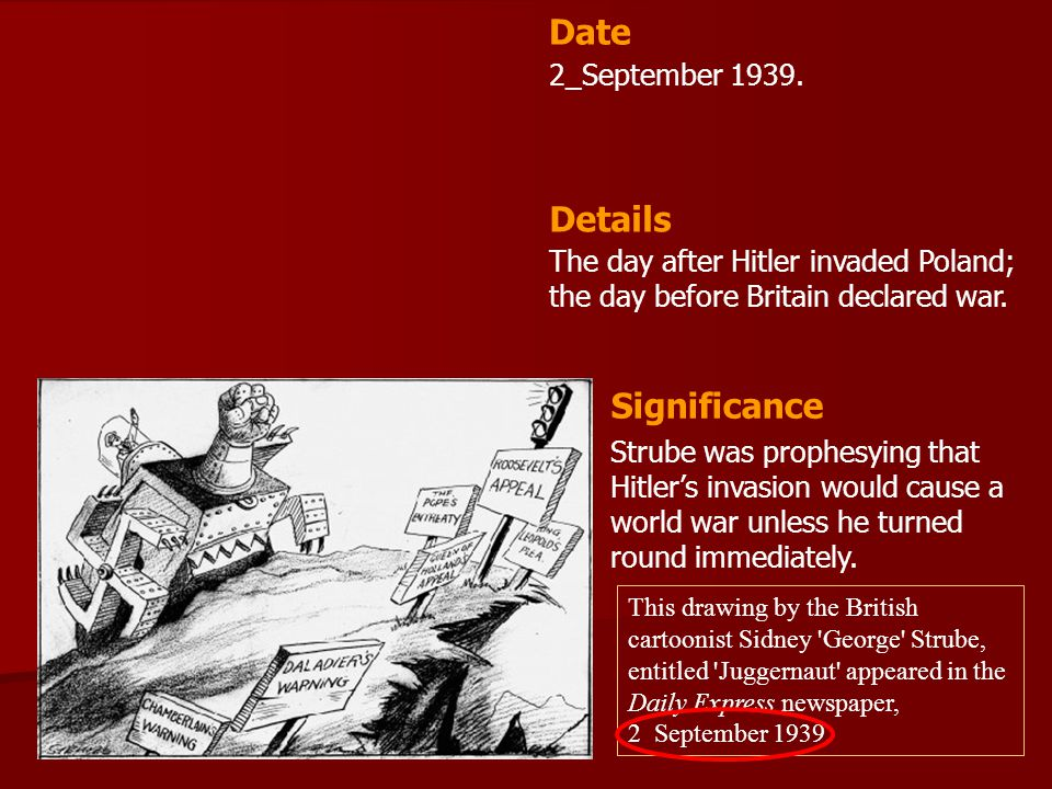 Date Details Significance 2_September 1939.