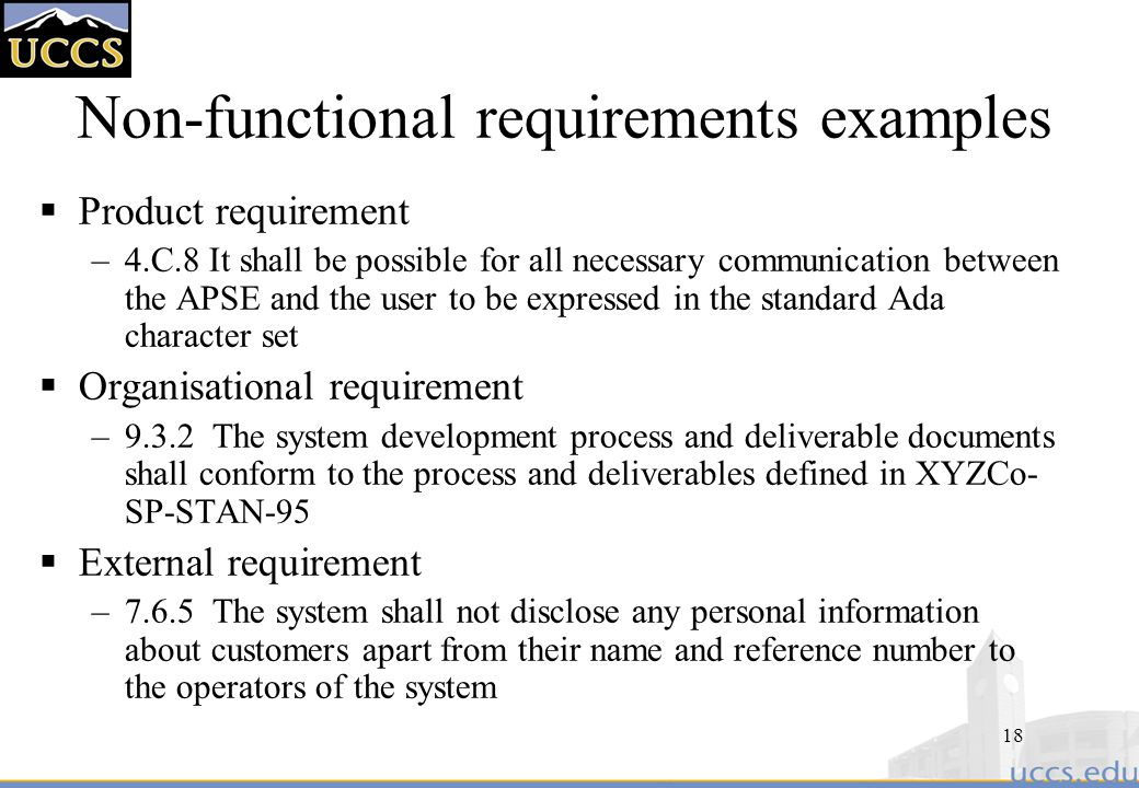 Software Requirements Ppt Download - Functional requirements examples