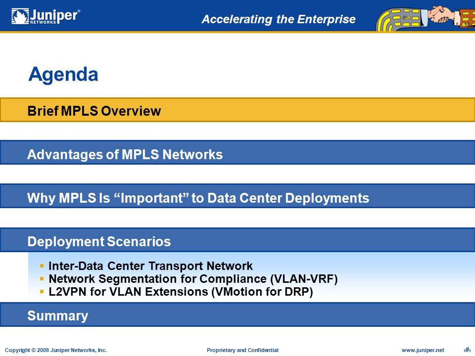 """MPLS in the Data Center Achieve """"Carrier-class"""" Network"""