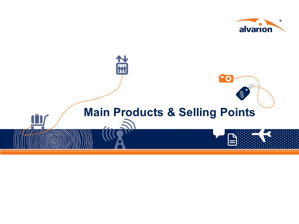 Main Products & Selling Points
