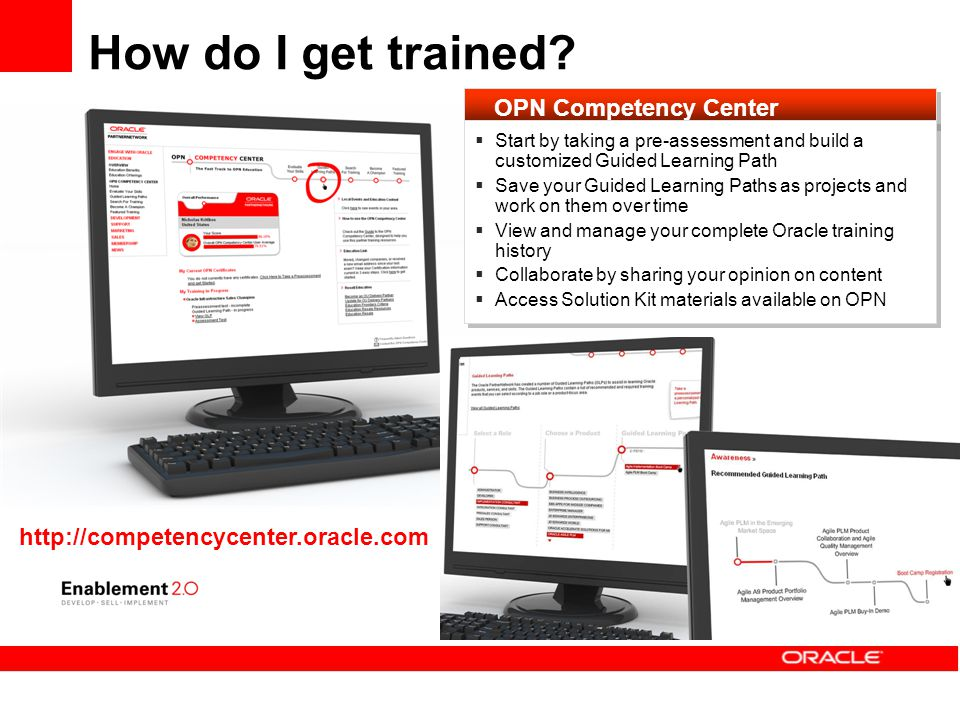 How do I get trained OPN Competency Center