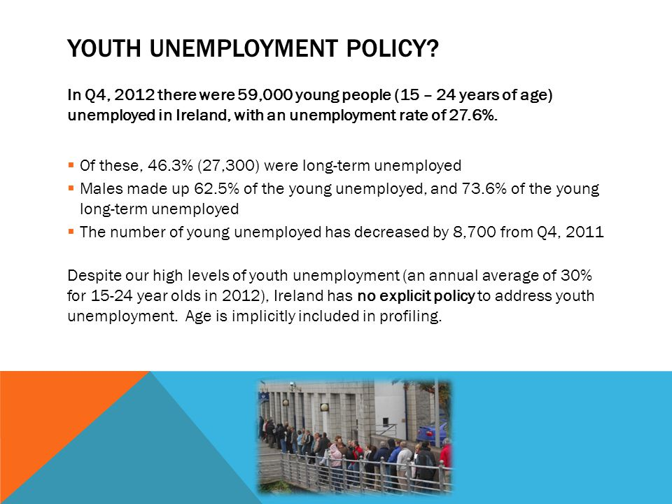Youth Unemployment policy