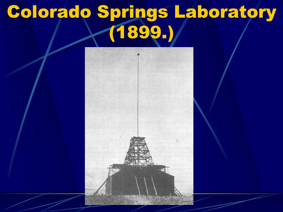Colorado Springs Laboratory (1899.)