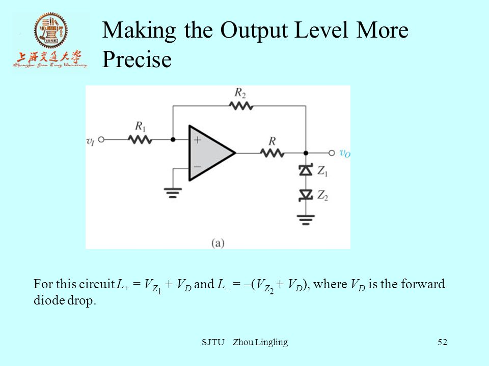 Making the Output Level More Precise