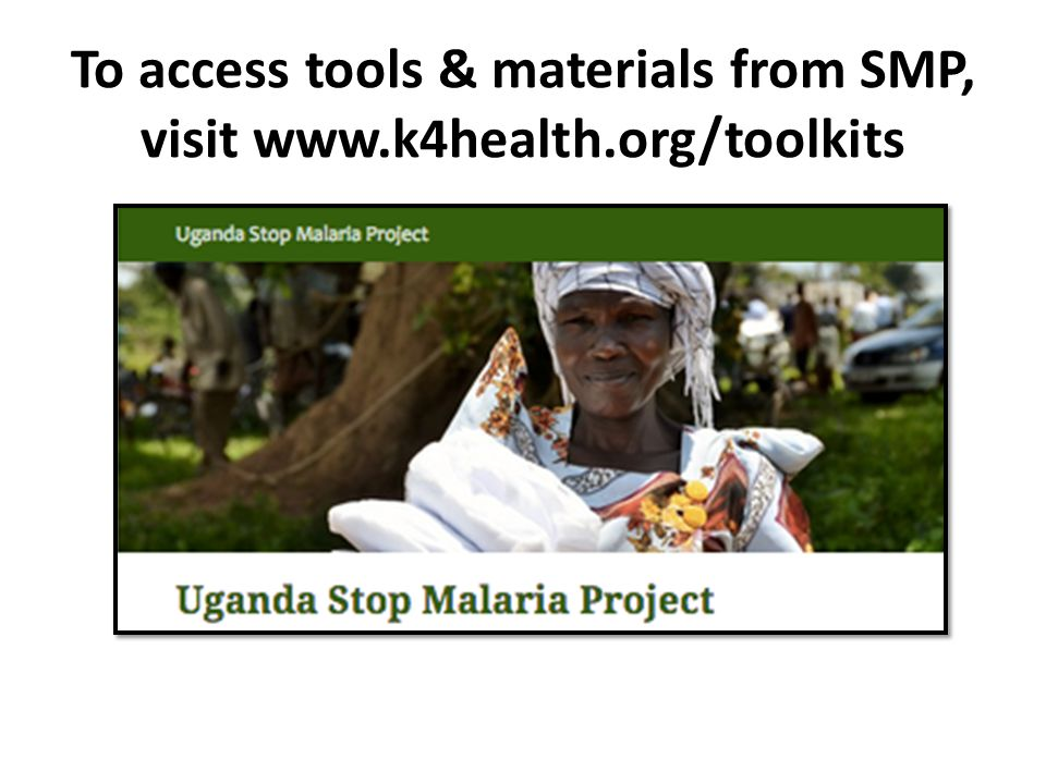 To access tools & materials from SMP, visit