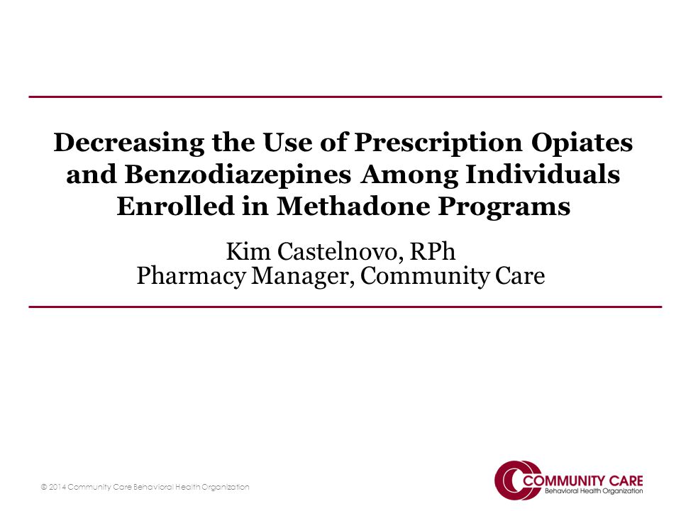 Kim Castelnovo, RPh Pharmacy Manager, Community Care